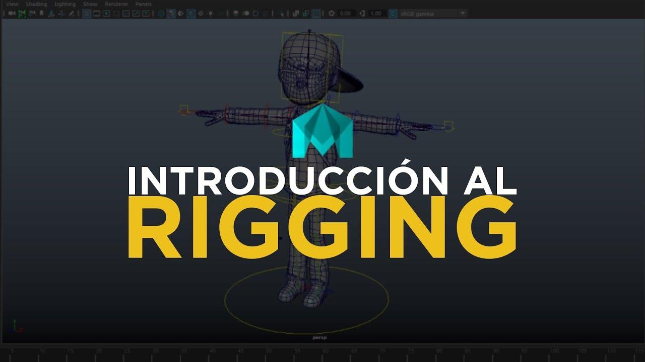Introducción al Rigging en Autodesk Maya | Factor3D