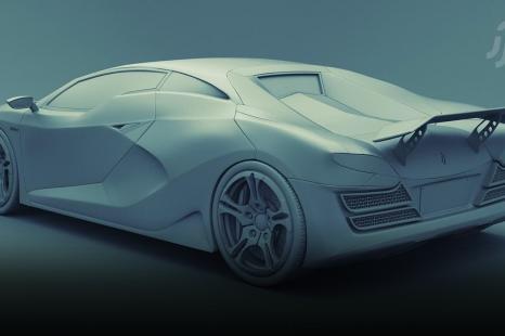 BlendMasters Volume 1: Model a Concept Car for Film in Blender
