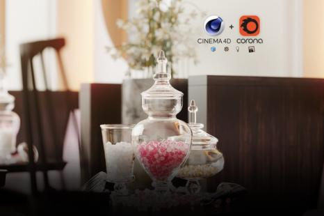 Cinema 4D + Corona: Creating Photorealistic Interior