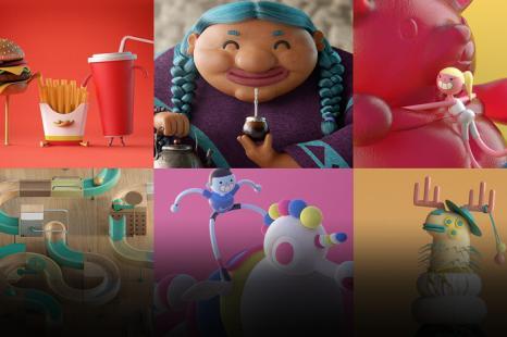 Creación de cortometrajes animados en 3D para redes sociales
