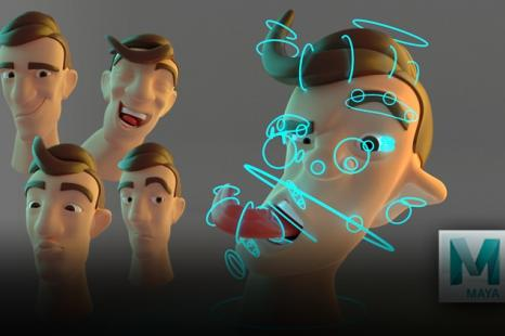 Rigging Facial estilo Cartoon en Maya