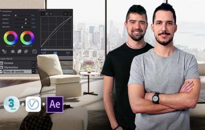 Animación arquitectónica en 3D