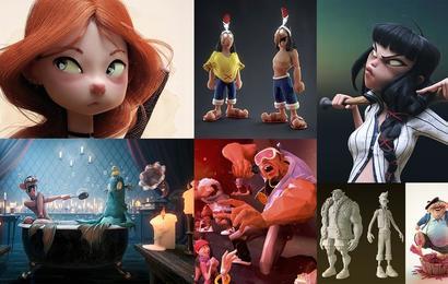 Creación de personajes: del 2D al 3D