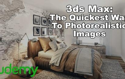Interior 3D Rendering with 3ds Max + Vray: The Quickest Way