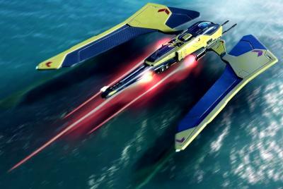Diseño y modelado de una nave sci-fi en 3D
