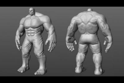 Esculpido orgánico de personajes 3D en Maya y ZBrush
