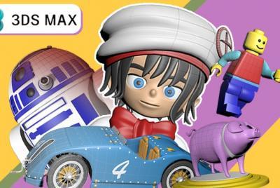 """MÁSTER EXPERTO """"MODELADO 3D"""" DESDE CERO CON AUTODESK 3DS MAX"""