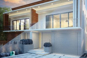vray exterior rendering
