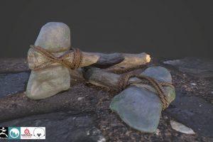 , Armas Prehistoricas para Video Juegos Vol  1, Factor3D, Factor3D