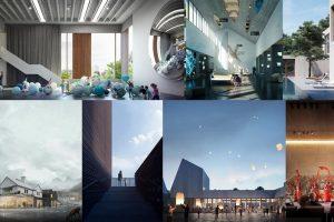 arquitectura en 3dsMax