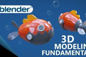 modeling in Blender