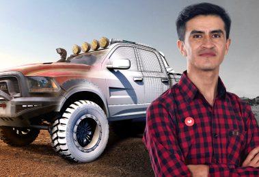 modelado de coches en 3d