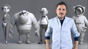 , Modelado profesional de personajes cartoon 3D, Factor3D, Factor3D