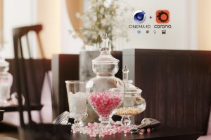 cinema4d, Cinema4D + Corona: Creating Photorealistic Interior, Factor3D