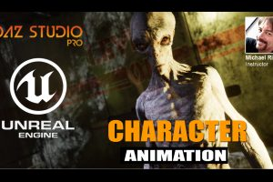 character animation in unreal engine