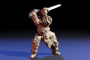 , Escultura de miniaturas con Blender 2.8x para impresion 3D, Factor3D, Factor3D