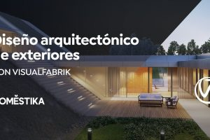 V-Ray para arquitectura de exteriores domestika