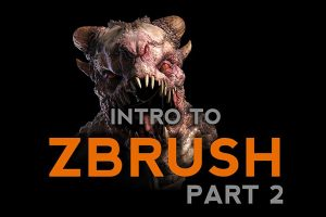 , Intro to ZBrush Part 2, Factor3D