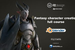 blender how to sculpt pbr materials character animation