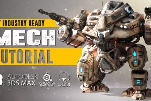 mech tutorial 3dsmax substance painter