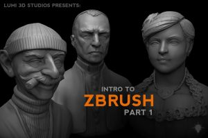 zbrush, Intro to ZBrush Part 1, Factor3D