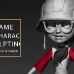 Sculpt game characters, Game Character Sculpting For Beginners with Zbrush and Maya, Factor3D