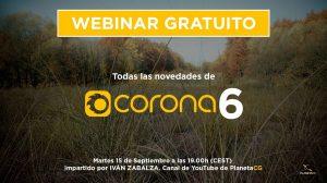 , WEBINAR GRATUITO: Todas las novedades de Corona 6, Factor3D