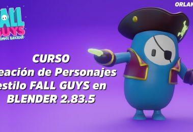 modelado de personajes en blender, Modelado de personajes en Blender | Crea un FALL GUY, Factor3D