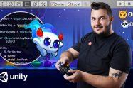Creación de videojuegos de plataformas con Unity – Un curso DOMESTIKA de Steve Durán