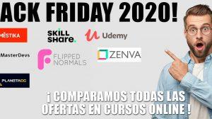 black friday 2020 cursos online domestika udemy skillshare