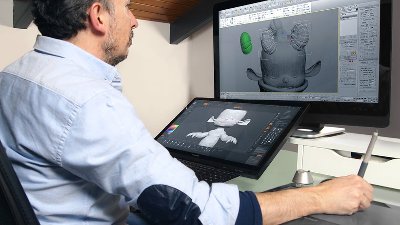 esculpido digital personajes zbrush