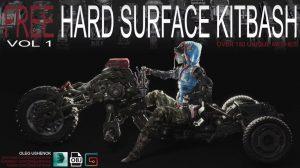 hard surface kitbash