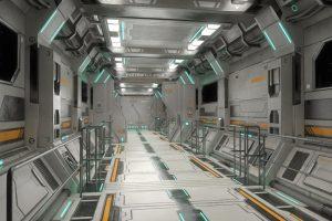 sci-fi modular assets