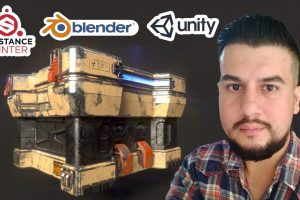 Modelado Hard Surface Videojuegos Blender