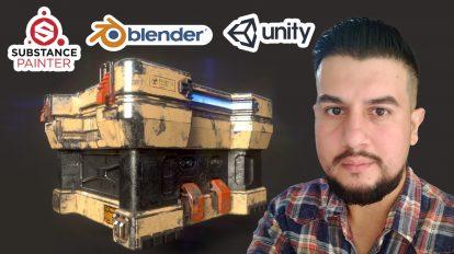 Modelado Hard Surface Videojuegos Blender