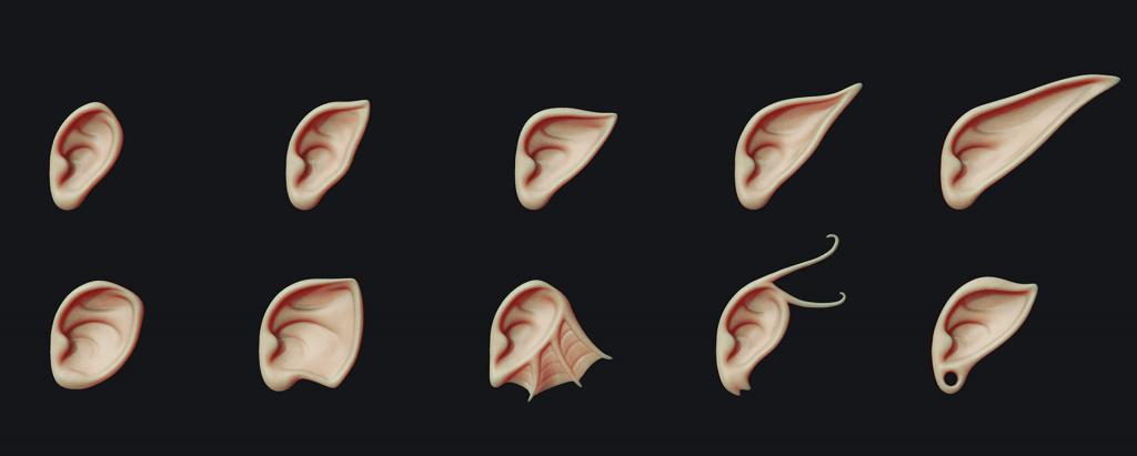 3d ears