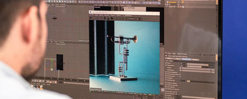 render con cinema4d