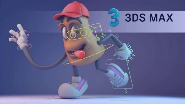 curso 3dmax animacion modelado texturizado rigging