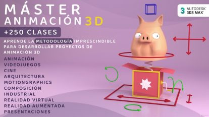 master animacion 3dsmax curso udemy espanol