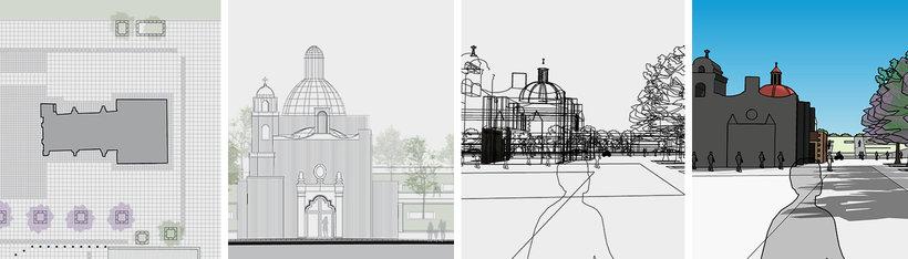 proceso modelado arquitectura urbana